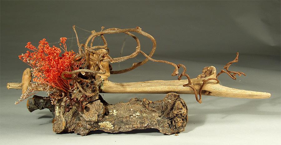 zymoglyphic museum   ikebana arrangement